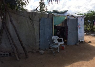 Prayer room in Haiti